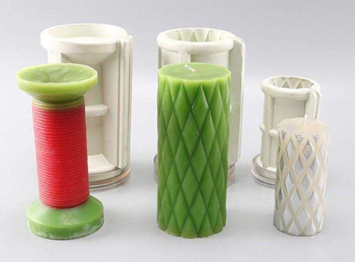moldes para velas de silicona